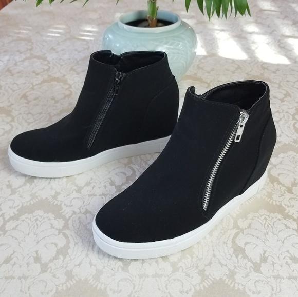 Brash Cece Hidden Wedge Casual Sneakers
